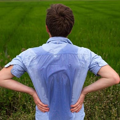 Tips to manage excessive sweating due to Hyperhidrosis