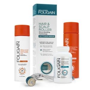 Foligain Men's Bundle | Male Thinning Hair Set