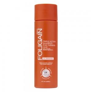 Foligain Trioxidil Shampoo for Men packaging