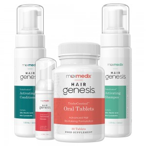 Hair Bundle | Natural Thinning Hair Hairgenesis Kit