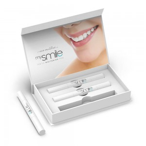 Eco Masters mySmile Teeth Whitening Pen - 3 x 2ml Teeth l Natural Teeth Whitening Gel Pen