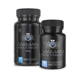 Viaman Bundle | Natural Male Enhancement Supplement Pack